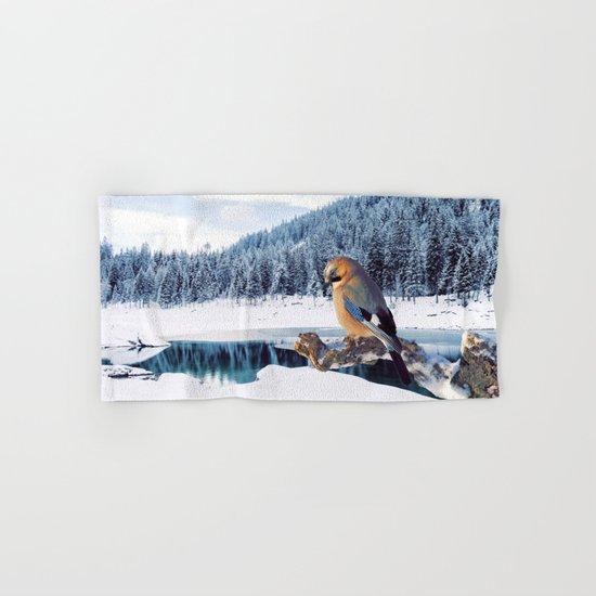 Winter Moments Hand & Bath Towel