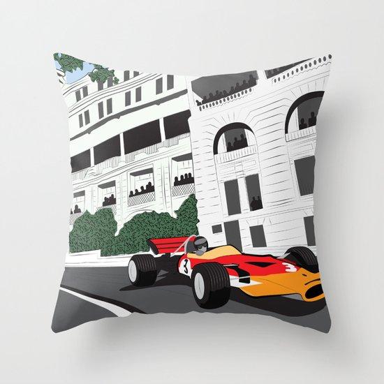 Invincible Throw Pillow
