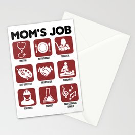 The Duties of a Mother Sarcasm Gift Stationery Cards