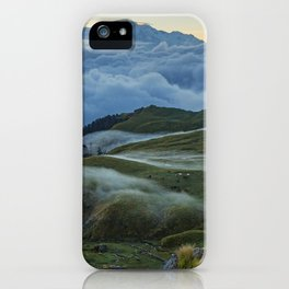 The Alpine Pastures of Rudranath iPhone Case