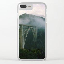 Bixby Bridge, Big Sur, California Clear iPhone Case