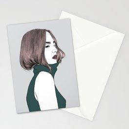 Basic instinct Stationery Cards