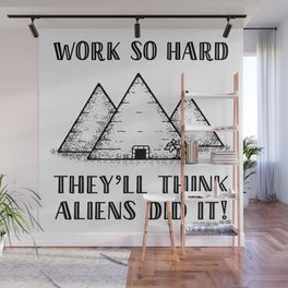 Aliens Did It! Wall Mural