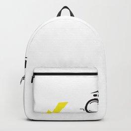 Ich bremse nicht ich rekuperiere Elektroauto Backpack