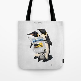 Read All Over Tote Bag