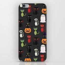 Halloween Cats iPhone Skin