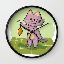 Tom and Jerry - Cat Holding Rat Cartoon For Kids Wall Clock