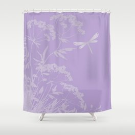 Small idyll lilac Shower Curtain
