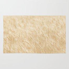 Summer Wheat Photograph Rug