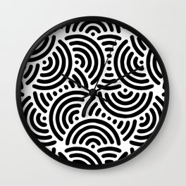 Licorice Wall Clock