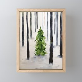 fir-tree Framed Mini Art Print