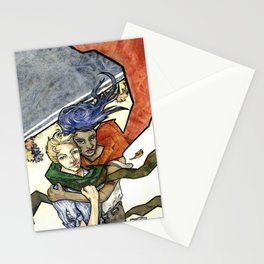 Montreal Fall Wind Stationery Cards