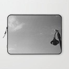 Seagull on lantern Laptop Sleeve