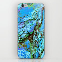 Blue Fantasy iPhone Skin