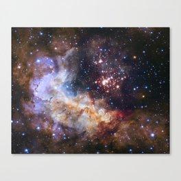 Hubble's 25Th Anniversary  Canvas Print