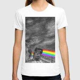 Turn the spotlight on, send the colors T-shirt