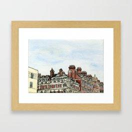 London Rooftops Framed Art Print