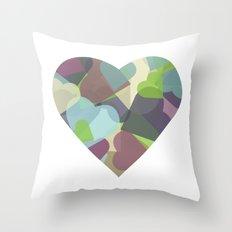 HEARTFUL Throw Pillow