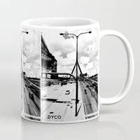 boston Mugs featuring Boston by DYCO