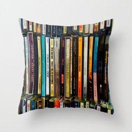 Music Cds Throw Pillow