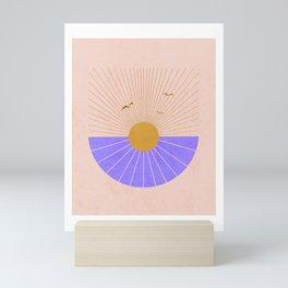 Rays of sunshine Mini Art Print