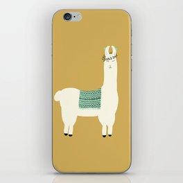 Llama days iPhone Skin
