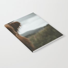 Scottish Highland Cattle Notebook