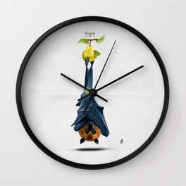 Peared Wall Clock