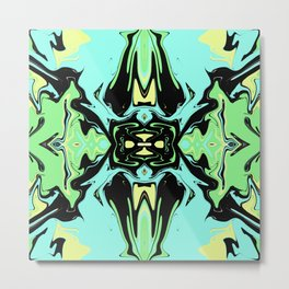 Hidden Turtles Metal Print