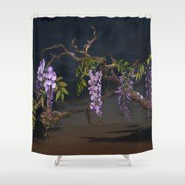 Cogan's Wisteria Shower Curtain