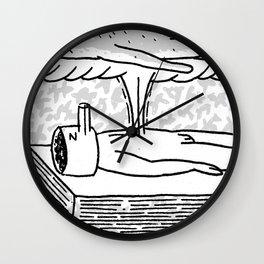 Sleep Walker Wall Clock