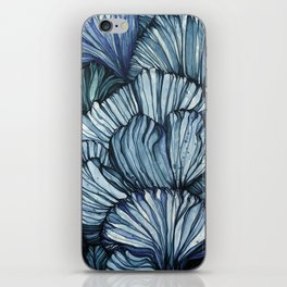 Blue Coral iPhone Skin