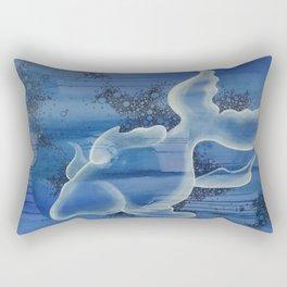 Space Fish Rectangular Pillow