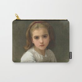 "William-Adolphe Bouguereau ""Girl with Pitcher"" Carry-All Pouch"