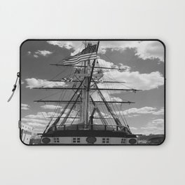 Baltimore Harbor - USS Constellation Laptop Sleeve