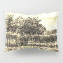 Liliy Pond Vintage Pillow Sham