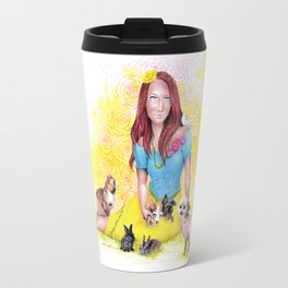 Snow White I | Endometriosis awareness Travel Mug