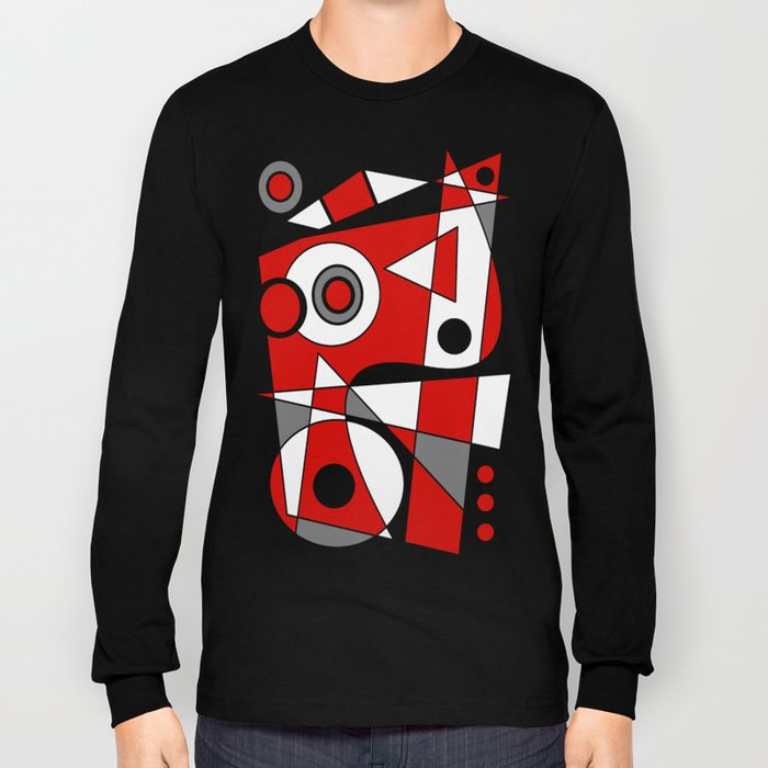 Abstract #485 Long Sleeve T-shirt