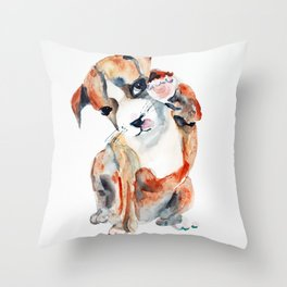 Pup l Throw Pillow