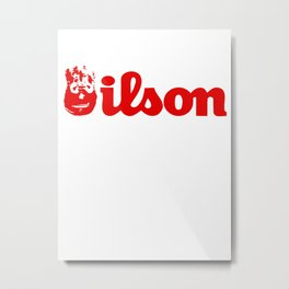 Wilson Metal Print