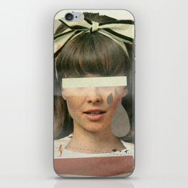 Tears In The Typing Pool | Collage iPhone Skin