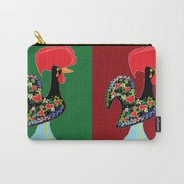 Portuguese Rooster Cluster Carry-All Pouch