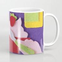 breakfast Mugs featuring Breakfast by Jacopo Rosati