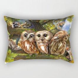 Out On a Limb Rectangular Pillow