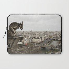 Gargoyle of Notre Dame Laptop Sleeve