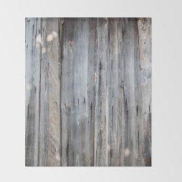 Wood Throw Blanket