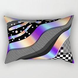 Chromatic Pattern Rectangular Pillow