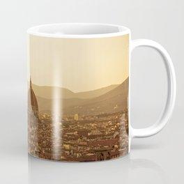 Florence skyline At Sunset Coffee Mug