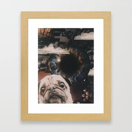 Big Brother is Watching Framed Art Print