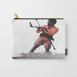 Board Out Of Your Mind Kitesurf Vector Carry-All Pouch